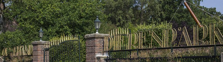 Ingang Ouwehands dierenpark