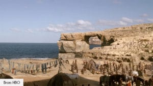Azure Window filmlocatie Game of Thrones seizoen 1