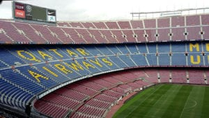 Camp Nou stadion in Barcelona