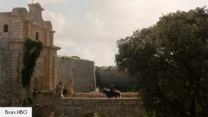 Silent City Mdina Game of Thrones seizoen 1 filmlocatie