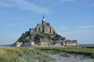Mont Saint-Michel in Normandie