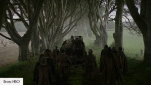 The Dark Hedges filmlocatie Game of Thrones seizoen 2