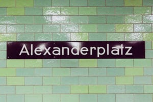 Alexanderplatz in Berlijn