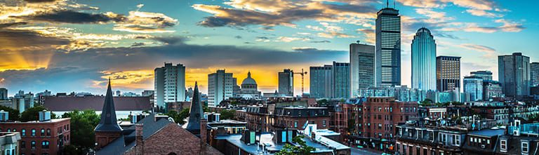 Skyline van Boston