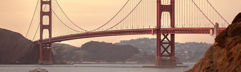 Golden Gate brug in Amerika